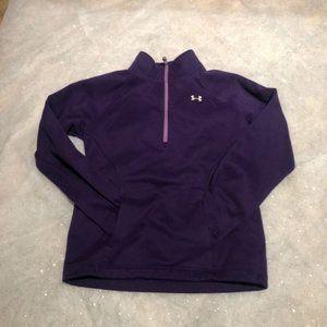 Under Armour Girl YSM  = Sz 8  Sweatshirt Pullover